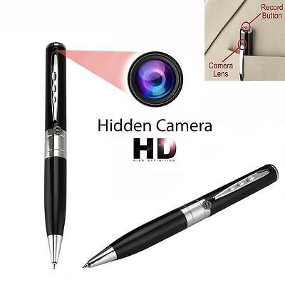 Mini DV DVS CAM Hidden Spy Pen Video camara espia videocamara grabadora 1280 BF