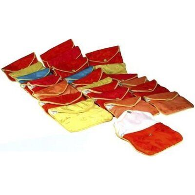 """24 Assorted Chinese Jewelry Pouches 4 1/2"""""""