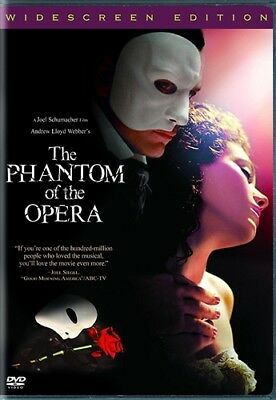THE PHANTOM OF THE OPERA New Sealed DVD 2004 Gerard Butler