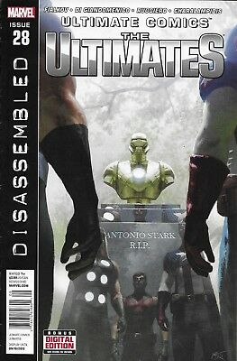 Ultimate Comics The Ultimates Issue 28 Marvel Modern Age First Print Fialkov