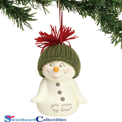 Department 56 Snowpinions 6001966 You Warm My Heart Ornament 2018
