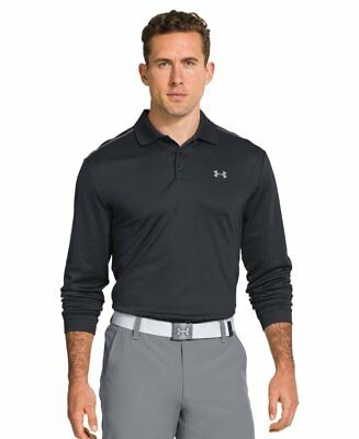 New With Tags Mens Under Armour UA ColdGear Infrared Long Sleeve Polo Top