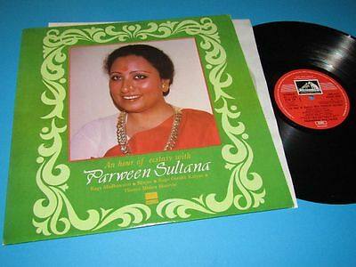Parween Sultana / An Hour Of Ecstasy With (India 1983, EMI ECSD 2950) - LP