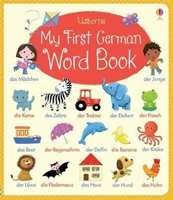 My First German Word Book by Felicity Brooks - Hardcover - NEW - Book
