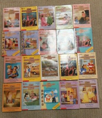The Baby-Sitters Club by Ann M.Martin lot of 20 paperbacks