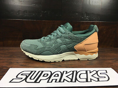 best service 3bce8 ef230 ASICS GEL-LYTE 5 V (Forest Green / Vachetta Tan) [H835L-8282] Running Mens  8-13