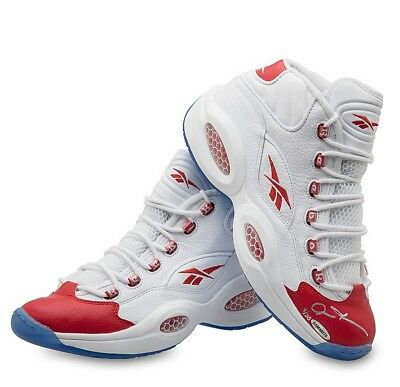Allen Iverson Signed Autographed Reebok Shoes Red Toe Mid 76ers Sixers /30 UDA