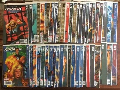 Lot Of 45 Ultimate Fantastic Four #1-42  complete Run + annual #1-2 + 30 Variant