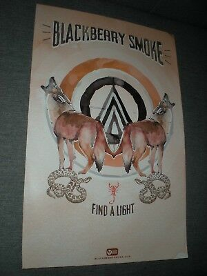 POSTERS by BLACKBERRY SMOKE find a light promo for the bands new tour album cd