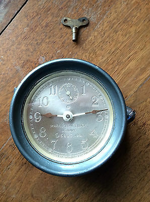 Antique Seth Thomas WWII Mark I Boat Clock 1941 US Navy 5317