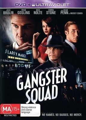 """GANGSTER SQUAD"" DVD - Region [4] NEW - CLEARANCE -"