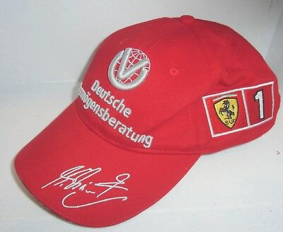 Base Cap: Michael Schmacher (DV) F1 Champion 2000/2001