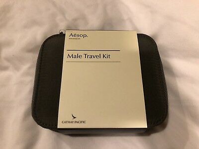 Brand New Unopened Cathay Pacific Male First Class Amenity Kit