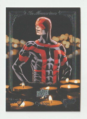 2017 Upper Deck Marvel Annual In Memoriam IM-5 Cyclops
