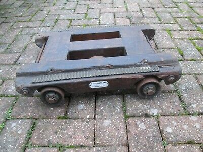 Antique Vintage Slingsby Piano Trolley / Dolly