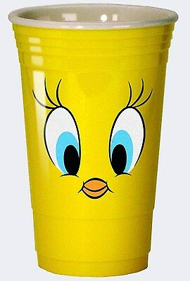 Looney Tunes Double Walled Acrylic Heavy Duty Party Cup: Tweety Bird