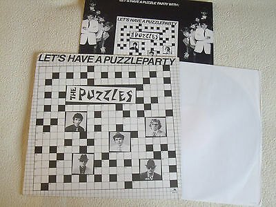 THE PUZZLES - Let's have a Puzzle Party / Puzzleparty LP Polydor Holland 1980
