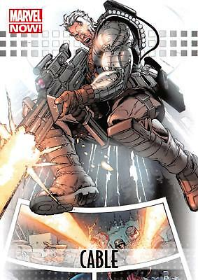 CABLE / 2013 Marvel Now! (Upper Deck 2014) BASE Trading Card #17