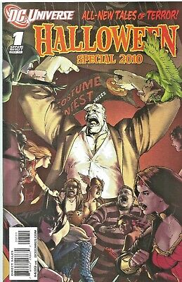 Dc Universe Halloween Special  $4.99 One-Shot  Giant-Size  2010  Nice!!!