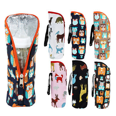 Baby Bottle Warmer Portable Thermal Kids Feeding Milk Bag Outdoor Keep Warm