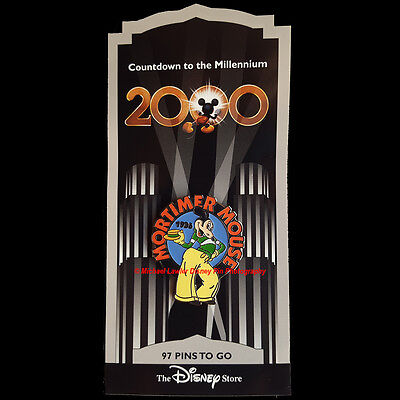 Disney Store Countdown To The Millennium #98 Mortimer Mouse Pin Mickey's Rival