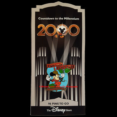Disney Store Countdown To The Millennium Pin #97 Fun & Fancy Free Mickey Pin