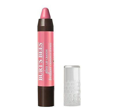 BURT'S BEES GLOSS Lip Crayon Lip Color PINK LAGOON 413 Lipcolor NEW burts