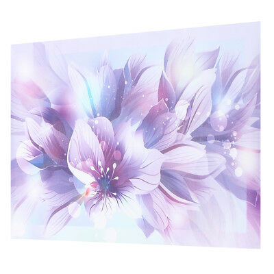 Purple Flower Floral Canvas Print Art Painting Picture Home Wall Decor Unframed