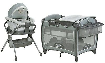 Graco Baby Pack n Play Day2Dream Crib Bassinet Playard & Bedside Sleeper Mullaly