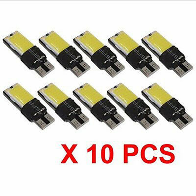 10x T10 CAR BULBS LED ERROR FREE CANBUS 25 SMD COB XENON W5W 501 SIDE LIGHT CREE
