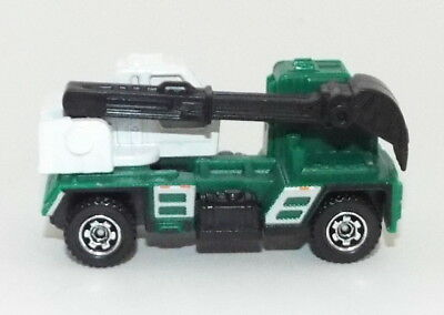 Brand New W/O the Box Matchbox Die Cast Xcatvator in Green and White