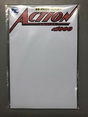 Action Comics #1000 2000s BLACK COVER