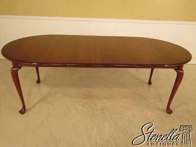 L41993BE: Colonial Cherry Queen Anne 4 Leg Dining Room Table