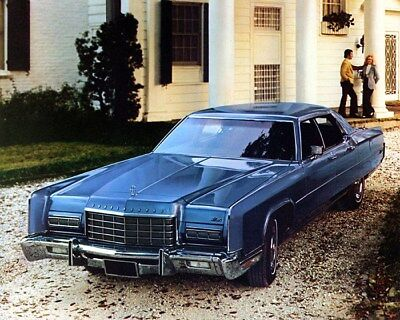 1973 Lincoln Continental Mark IV Factory Photo cb1285