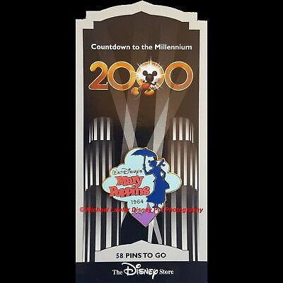 Disney Store Countdown To The Millennium Pin #59 Mary Poppins
