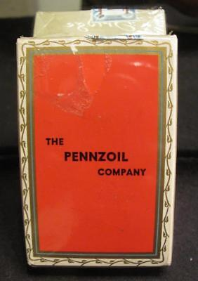 Pennzoil Company - New Mint Deck Playing Cards-Bridge Games