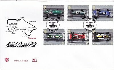 2007 Grand Prix Fdc Special Moss Brands Hatch  Cancel Stuart Cover