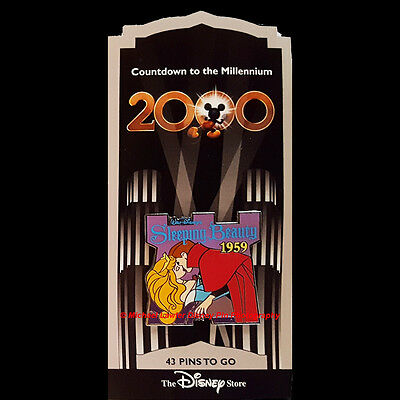 Disney Store Countdown To The Millennium Pin #44 Sleeping Beauty 1959 Phillip