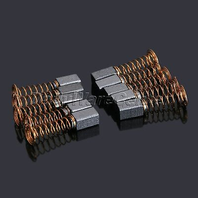 10Pcs 5 x 5 x 8mm Carbon Brushes Use Generic Electric Motor Power Parts Tool US