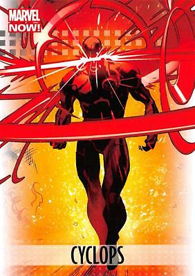 CYCLOPS / 2013 Marvel Now! (Upper Deck 2014) BASE Trading Card #23