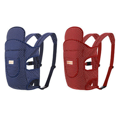 Baby Kid Newborn Infant Carrier Backpack Front Back Rider Sling Comfort Wrap Bag