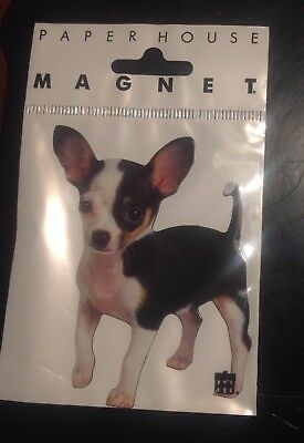 CHIHUAHUA Dog Die-Cut Magnet by Paper House New Sealed in Package