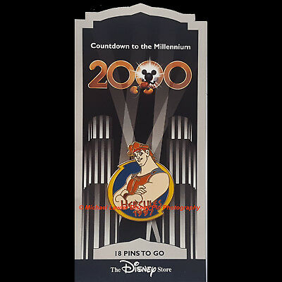 Disney Store Countdown To The Millennium Pin #19 Hercules