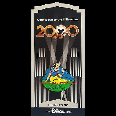 Disney Store Countdown To The Millennium Pin #12 Snow White And The Seven Dwarfs