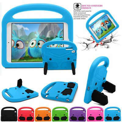 For iPad 4 3 2 Mini Air Pro 5th / 6th Gen Heavy Duty Shockproof Kids Case Cover