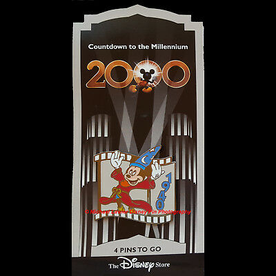 Disney Store Countdown To The Millennium Pin #5 Sorcerer's Apprentice Mickey