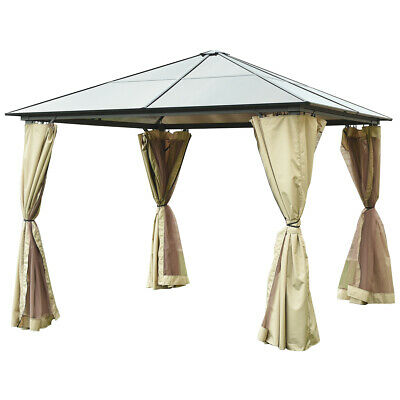 10'X10' Gazebo Canopy Shelter Patio Party Tent Outdoor Awning Side Walls
