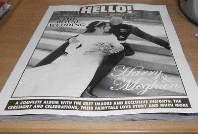 Hello! magazine The Royal Wedding Special Collectors' Edition Harry & Meghan