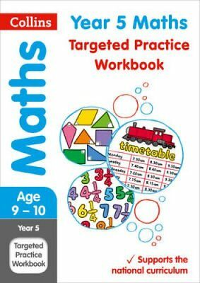 Year 5 Maths Targeted Practice Workbook 2019 Tests by Collins KS2 9780008201715