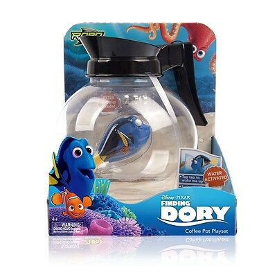 Disney Finding Dory Robo Fish Water Activated Toy - Coffee Pot Playset 22784